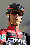 Manuel Quinziato (ITA) BMC Racing Team on stage at sign on before the 101st edition of the Tour of Flanders 2017 running 261km from Antwerp to Oudenaarde, Flanders, Belgium. 26th March 2017.<br /> Picture: Eoin Clarke | Cyclefile<br /> <br /> <br /> All photos usage must carry mandatory copyright credit (&copy; Cyclefile | Eoin Clarke)