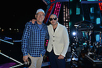 MIAMI, FL - DECEMBER 30: PITBULL'S NEW YEAR'S REVOLUTION REHEARSAL: Hosted by Queen Latifah and Snoop Dogg. PITBULL'S NEW YEAR'S REVOLUTION returns to FOX on Saturday, Dec. 31, live from Miami, FL, 11:00 PM-12:30 AM ET (CT/MT/PT tape-delayed) for the countdown to 2017. At Bayfront Park on Saturday December 30, 2016 in Miami, Florida. Pictured: John Hamlin and Pitbull. Photo by: Johnny Louis/jlnphotography.com