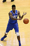07 March 2015: Duke's Amile Jefferson. The University of North Carolina Tar Heels played the Duke University Blue Devils in an NCAA Division I Men's basketball game at the Dean E. Smith Center in Chapel Hill, North Carolina. Duke won the game 84-77.