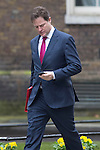 Day before the Budget 2013.Nick Clegg outside Downing Street today 19.3.13.....Pic by Gavin Rodgers/Pixel 8000 Ltd