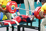 Tetsuo Nishizaki (JPN),<br /> SEPTEMBER 9, 2016 - Powerlifting : <br /> Men's -54kg<br /> at Riocentro - Pavilion 2<br /> during the Rio 2016 Paralympic Games in Rio de Janeiro, Brazil.<br /> (Photo by Shingo Ito/AFLO)