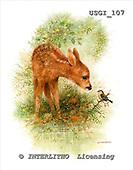 GIORDANO, REALISTIC ANIMALS, REALISTISCHE TIERE, ANIMALES REALISTICOS, paintings+++++,USGI107,#A#,deer
