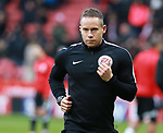 Referee Stephen Martin during the Championship match at Bramall Lane Stadium, Sheffield. Picture date 30th December 2017. Picture credit should read: Simon Bellis/Sportimage