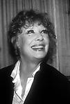 Gwen Verdon on April 12, 1986 in New York City.