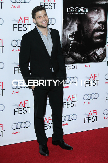 "HOLLYWOOD, CA - NOVEMBER 12: Jerry Ferrara at the AFI FEST 2013 - ""Lone Survivor"" Premiere held at TCL Chinese Theatre on November 12, 2013 in Hollywood, California. (Photo by David Acosta/Celebrity Monitor)"