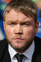 Grant McCann (Manager) of Peterborough United during the Sky Bet League 1 match between Peterborough and Oxford United at the ABAX Stadium, London Road, Peterborough, England on 30 September 2017. Photo by David Horn.