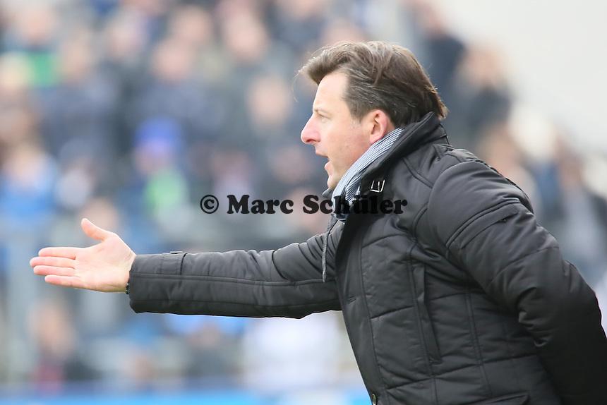 Trainer Kosta Runjaic (FCK) - FSV Frankfurt vs. 1. FC Kaiserslautern, Frankfurter Volksbank Stadion