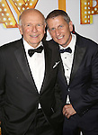 Terrence McNally and husband Thomas Kirdahy attends the Broadway Opening Night Performance After Party for  'It's Only A Play'  at the Mariott Marquis on October 9, 2014 in New York City.