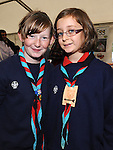 Alexandra Caufield and Emily Burke pictured at the Heritage and Harvest festival at An Grianan. Photo: www.pressphotos.ie