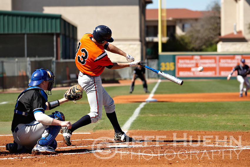 SAN ANTONIO, TX - FEBRUARY 27, 2010: The Indiana State University Sycamores vs. The University of Texas at San Antonio Roadrunners Baseball at  Roadrunner Field. (Photo by Jeff Huehn)
