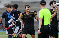 Action during the National Under 21 Championships between Auckland and Capital Men, Lloyd Elsmore Park, Auckland, New Zealand. Friday 12  May 2017. Photo:Simon Watts / www.bwmedia.co.nz