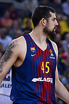 Turkish Airlines Euroleague 2017/2018.<br /> Regular Season - Round 8.<br /> FC Barcelona Lassa vs Valencia Basket: 89-71.<br /> Adrien Moerman.