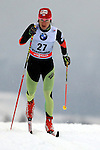 Eva Vrabcova in action during the Women 5 km Classic Individual in Val Di Fiemme<br /> <br /> &copy; Pierre Teyssot