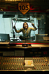 Milano, 30 gennaio 2004.Marco Mazzoli.Lo zoo di Radio 105