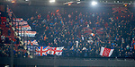 28.11.2019: Feyenoord v Rangers: Rangers fans with Ajax flag