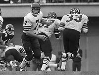 Joe Theismann Toronto Argonauts Quarterback 1971. Copyright photograph Scott Grant/