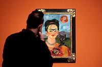 Roma 18-03-2014 Scuderie del Quirinale. Inaugurazione vernissage della mostra dedicata a Frida Kahlo.<br /> Opening of the exhibition of Frida Kahlo.<br /> Photo Samantha Zucchi Insidefoto