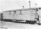 Cook and dining car 04466 assigned to rotary OM.<br /> D&amp;RGW