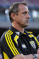 Columbus Crew Head Coach Robert Warzycha   The Columbus Crew defeated DC United 1-0 at RFK Stadium, Saturday September 4, 2010.