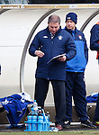 Ally McCoist in charge of the clipboard today