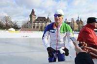 SCHAATSEN: BOEDAPEST: Essent ISU European Championships, 06-01-2012, Sven Kramer NED, ©foto Martin de Jong