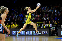 Pulse&rsquo; Katrina Grant in action during the ANZ Premiership - Pulse v Tactix at TSB Arena, Wellington, New Zealand on Monday 14 May 2018.<br /> Photo by Masanori Udagawa. <br /> www.photowellington.photoshelter.com