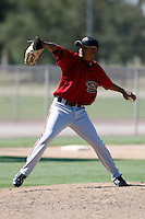 Eurys De La Rosa - Arizona Diamondbacks - 2009 spring training.Photo by:  Bill Mitchell/Four Seam Images