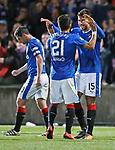 Eduardo Herrera celebrates his goal