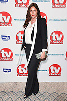 LONDON, UK. September 10, 2018: Lisa Snowdon at the TV Choice Awards 2018 at the Dorchester Hotel, London.<br /> Picture: Steve Vas/Featureflash