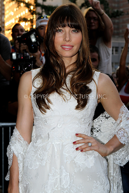 WWW.ACEPIXS.COM . . . . .  ....August 2 2012, New York City....Actress Jessica Biel at a screening of 'Total Recall' at Chelsea Clearview Cinemas on August 2, 2012 in New York City....Please byline: NANCY RIVERA- ACEPIXS.COM.... *** ***..Ace Pictures, Inc:  ..Tel: 646 769 0430..e-mail: info@acepixs.com..web: http://www.acepixs.com