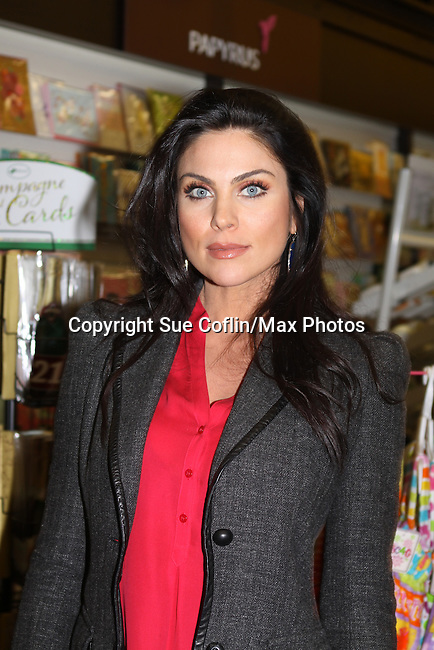 """Days of Our Lives Nadia Bjorlin at the Days of our Lives """"Better Living"""" book signing as fans got to meet the cast on Septermber 23, 2013 at Books & Greetings, Northvale, New Jersey.  (Photo by Sue Coflin/Max Photos)"""
