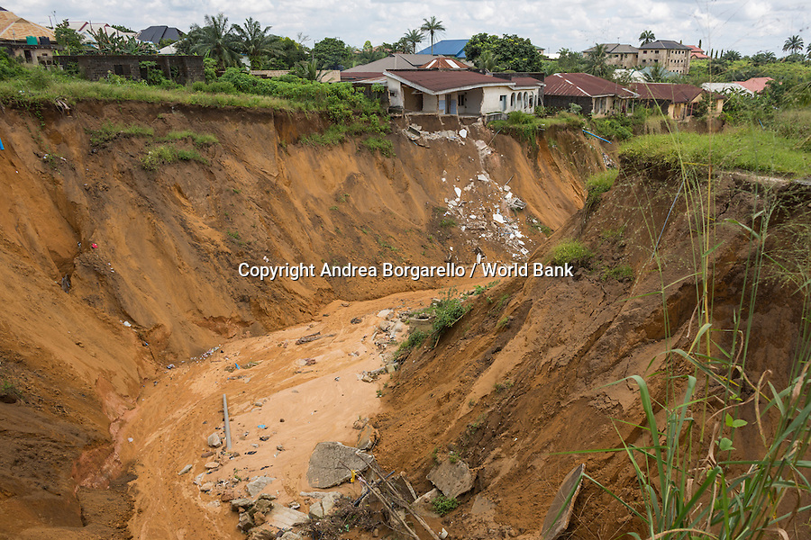 Nigeria, Cross River State, NEWMAP, World Bank Gully erosion