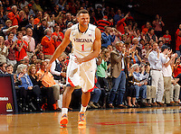 Virginia guard Justin Anderson (1) during the game Saturday, February 22, 2014,  in Charlottesville, VA. Virginia won 70-49.