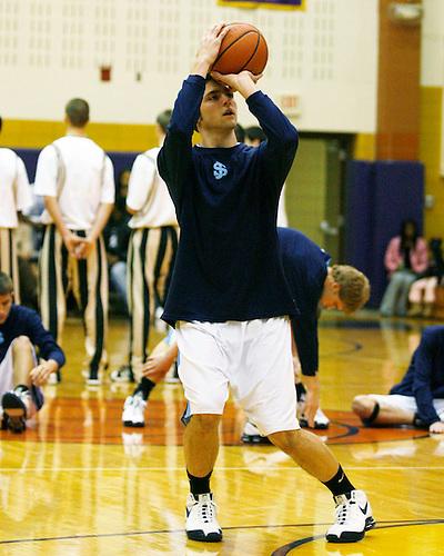 Saint Joseph's High School Varsity Basketball 2008.St. Joe vs. Penn.Holiday Tournament.