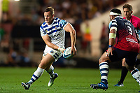 Chris Cook of Bath Rugby in possession. Gallagher Premiership match, between Bristol Bears and Bath Rugby on August 31, 2018 at Ashton Gate Stadium in Bristol, England. Photo by: Patrick Khachfe / Onside Images