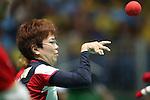Yuriko Fujii (JPN),<br /> SEPTEMBER , 2016 - Boccia : <br /> Mixed Team BC1/BC2 Semi-Final<br /> at Carioca Arena 2<br /> during the Rio 2016 Paralympic Games in Rio de Janeiro, Brazil.<br /> (Photo by Shingo Ito/AFLO)