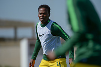 20190306 - PARALIMNI , CYPRUS : South African defender Noko Matlou pictured during a women's soccer game between Finland and South Africa , on Wednesday 6 March 2019 at the Tassos Markou Stadium in Paralimni , Cyprus.  This last game for both teams which decides for places 9 and 10 of the Cyprus Womens Cup 2019 , a prestigious women soccer tournament as a preparation on the Uefa Women's Euro 2021 qualification duels.PHOTO SPORTPIX.BE | STIJN AUDOOREN
