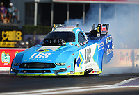 Apr 21, 2017; Baytown, TX, USA; NHRA funny car driver Tim Wilkerson during qualifying for the Springnationals at Royal Purple Raceway. Mandatory Credit: Mark J. Rebilas-USA TODAY Sports