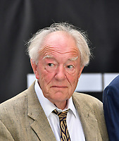 Michael Gambon<br /> King of Thieves world film premiere at Vue West End cinema, London, England on 12 September 2018.<br /> CAP/JOR<br /> &copy;JOR/Capital Pictures