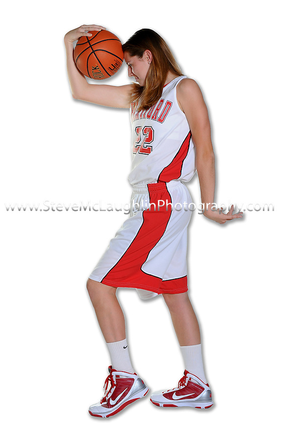 University of Hartford 209-2010 Women's Basketball Team shots.