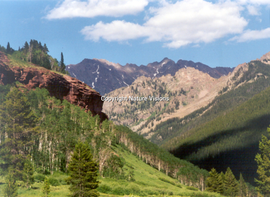 THE GORE RANGE<br /> NEAR VAIL, COLORADO