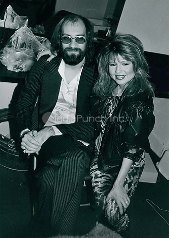 Mick Fleetwood & Pia Zadora 1984<br /> Photo By John Barrett-PHOTOlink.net / MediaPunch