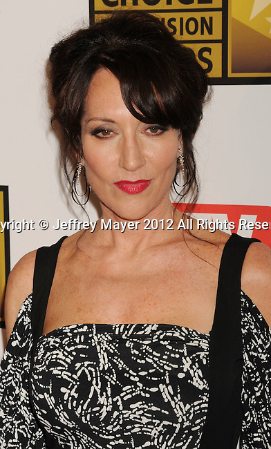 BEVERLY HILLS, CA - JUNE 18: Katey Sagal arrives at The Critics' Choice Television Awards at The Beverly Hilton Hotel on June 18, 2012 in Beverly Hills, California.