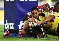 100227 Super 14 Rugby - Hurricanes v Lions