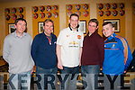 Soccer fans<br /> ----------------<br /> Enjoying the Meet &amp; greet the former Manchester United stars at McHales bar,Causeway last Saturday evening were L-R Mark Dilate,Patrick Rudden,Chris McGowen,John Madden &amp; Eric McHale