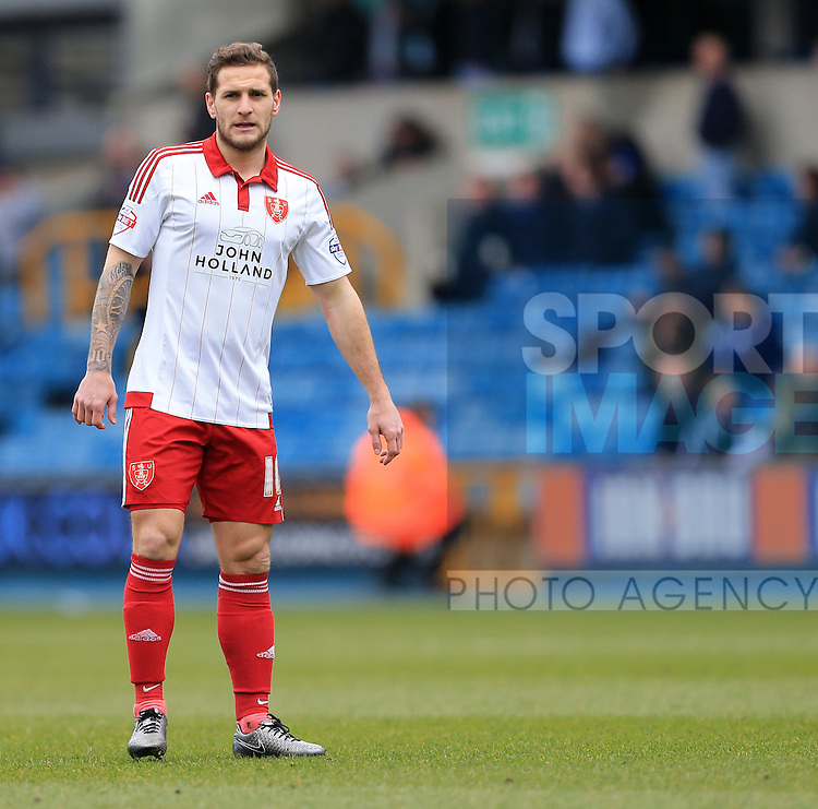 Sheffield United's Billy Sharp in action during the League One match at The Den.  Photo credit should read: David Klein/Sportimage