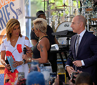 www.acepixs.com<br /> <br /> May 19 2017, New York City<br /> <br /> Singer Mary J. Blige (with Hoda Kotb and Matt Lauer) performed on the Today Show on May 19 2017 in New York City<br /> <br /> By Line: Curtis Means/ACE Pictures<br /> <br /> <br /> ACE Pictures Inc<br /> Tel: 6467670430<br /> Email: info@acepixs.com<br /> www.acepixs.com