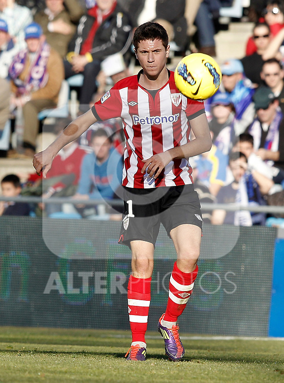 Athletic de Bilbao's Ander Herrera during La Liga Match. January 08, 2012. (ALTERPHOTOS/Alvaro Hernandez)