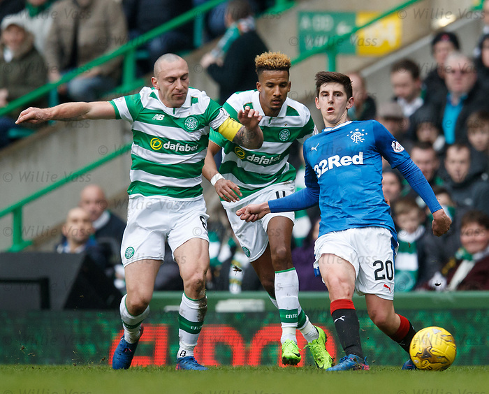 Scott Brown, Scott Sinclair and Emerson Hyndman