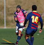 Jody Mahimi Allen, FC Barcelona 31 v 42 VRAC Quesos Entrepinares, Stadio La Teixonera, Barcelona. Jornada 12, Liga Heineken 2017/2018. Photo Martin SerasLima